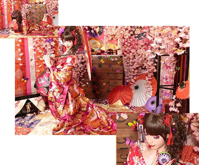 花魁体験studio 雅の女装プラン