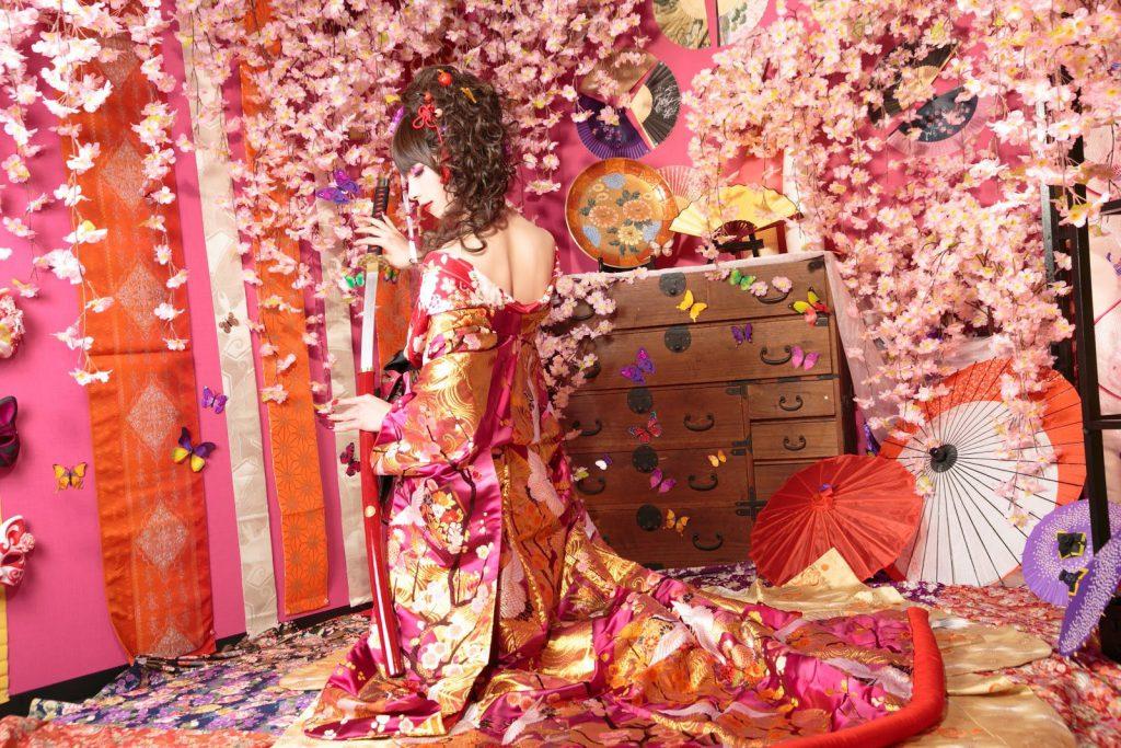 男性限定!人気の花魁体験プランで京都を満喫