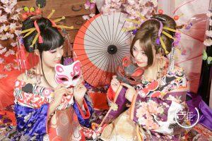 花魁といえば日本髪